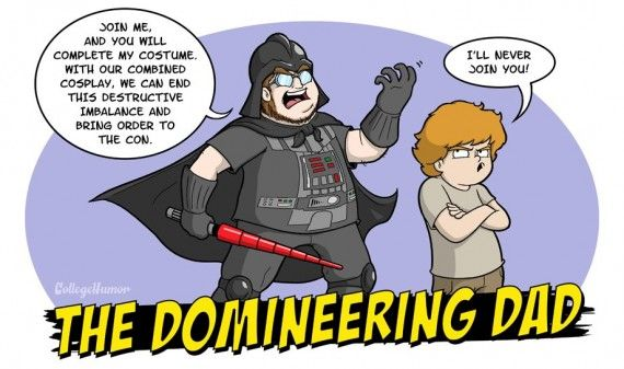 The Domineering Dad 570x337 SR Geek Picks: Flash Fan Film, Batman & Robin Honest Trailer, Simpsons Adult Jokes & More