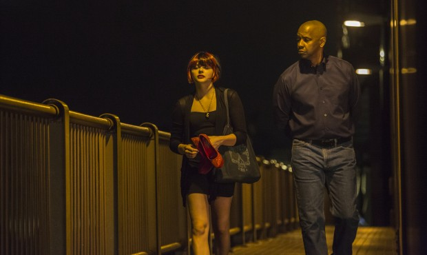 The Equalizer Official Photo Denzel Washington Chloe Moretz 620x370 Producer Todd Black Talks The Equalizer Story, Casting and Its Very Hard R Rating