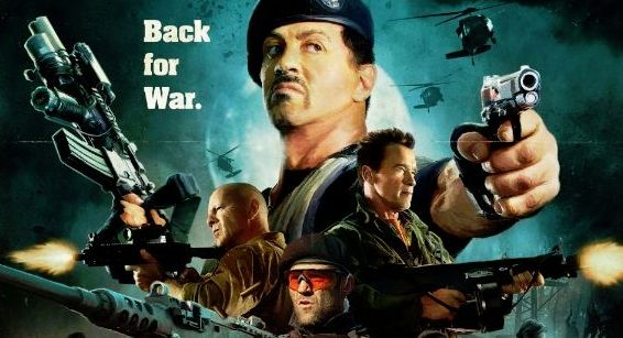 The Expendables 2 Comic Con 2012 poster header The Expendables 2 Comic Con 2012 poster header