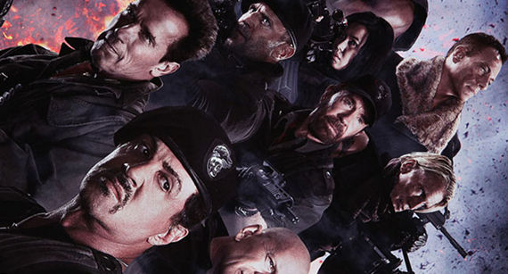 The Expendables 2 Maggie Sylvester Stallone Says The Expendables 2 Will Be Rated R