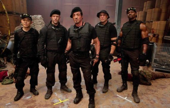 The Expendables 2 release date The Expendables 2 Snags An Official Release Date