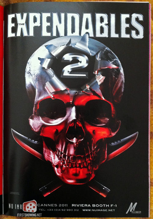 The Expendables 2 teaser poster First Expendables 2 Poster & Synopsis: This Time, Its Personal [Updated]