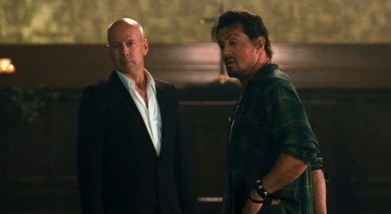 The Expendables3 Bruce Willis Talks Expendables 2