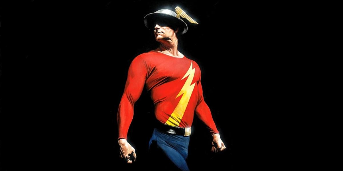 Flash (1990 et 2014) The-Flash-Jay-Garrick-Comic-Art