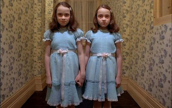 The Grady Twins The Shining1 Our 8 Favorite Movie Twins & One Pair We Hate