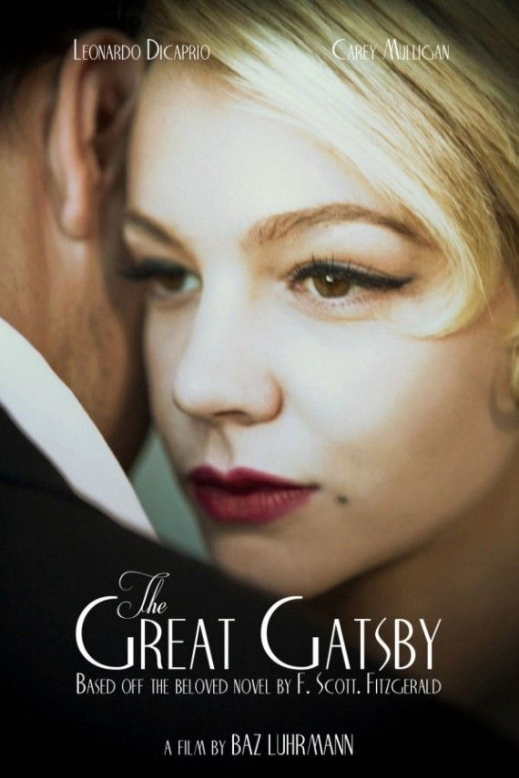 The Great Gatsby Movie Poster 2013 570x855 The Great Gatsby Movie Poster (2013)