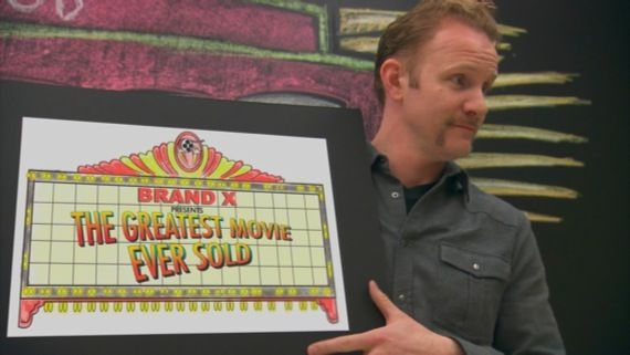 The Greatest Movie Ever Sold trailer with Morgan Spurlock The Greatest Movie Ever Sold Trailer Will Mess With Your Mind