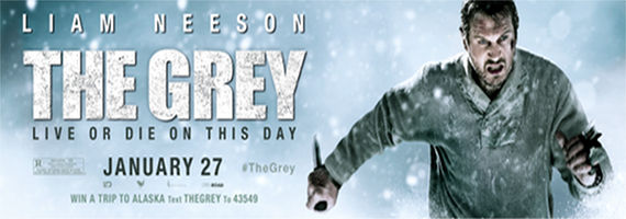 The Grey Advanced Screening Tickets The Grey To Be Given Oscar Run In Late 2012
