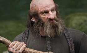 The Hobbit Dwalin Tattoos 280x170 The Hobbit Brand New Cast Images: A Closer Look at Bilbos Companions