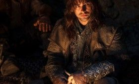 The Hobbit Kili By Campfire 280x170 The Hobbit Brand New Cast Images: A Closer Look at Bilbos Companions