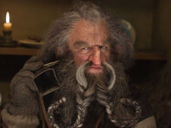 The Hobbit Oin At Bag End 570x427 The Hobbit Oin At Bag End