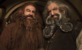 The Hobbit Oin Gloin At Bag End 280x170 The Hobbit Brand New Cast Images: A Closer Look at Bilbos Companions