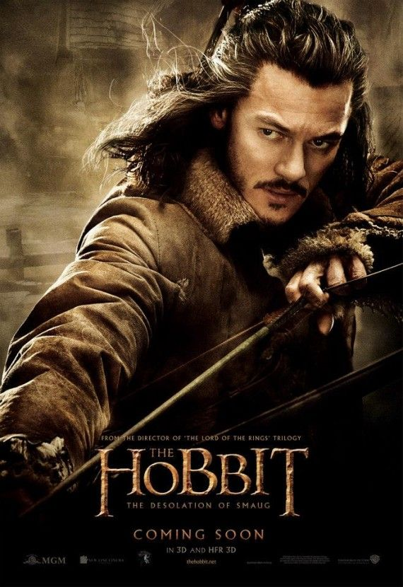 The Hobbit The Desolation of Smaug Bard poster1 570x830 The Hobbit: The Desolation of Smaug   Bard poster