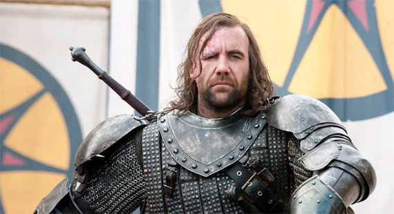 The Hound in Game of Thrones Game of Thrones Interviews Reveal Character Motivations & Season 2 Plot