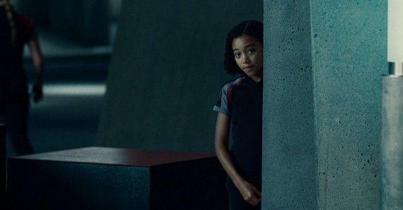 The Hunger Games Amandla Stenberg as Rue 570x298 The Hunger Games   Amandla Stenberg as Rue