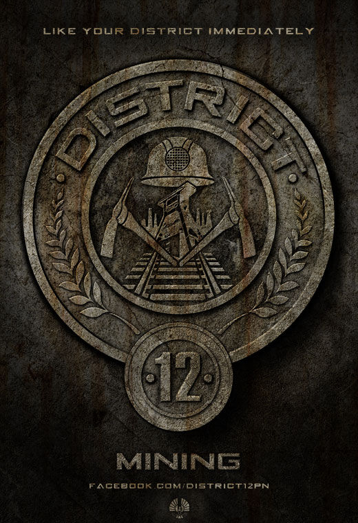 The Hunger Games District 12 Poster The Hunger Games District 12 Poster