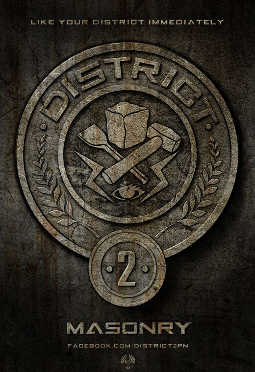 The Hunger Games District 2 Poster The Hunger Games District 2 Poster