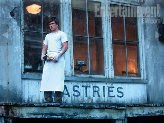 josh hutcherson as peeta mellark in the hunger games