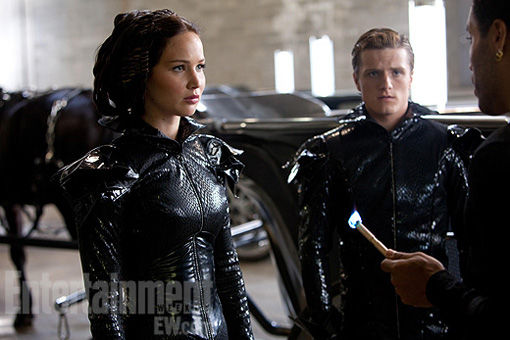 The Hunger Games Katniss Peeta Flame Costumes The Hunger Games Katniss Peeta Flame Costumes
