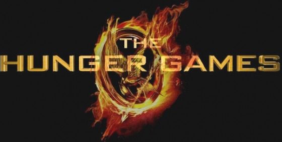 The Hunger Games movie Logo New Hunger Games Image & Poster: Katniss & Peeta Get Ready to Blaze [Updated]