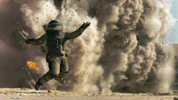 The Hurt Locker explosion still 570x320 2010 Oscar Race Update: Producers Guild & SAG Award Winners