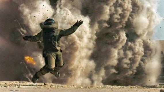 The Hurt Locker explosion still 570x320 2010 Oscar Race Update: Producers Guild & SAG Award Winners
