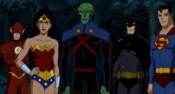 The Justice League in Justice League Doom Justice League: Doom Review