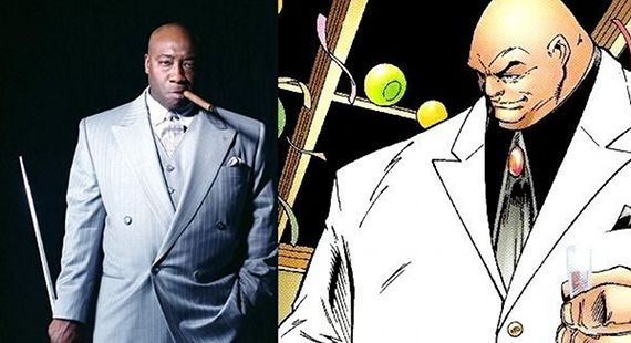 The Kingpin Daredevil comic book Michael Clarke Duncan Changing Face: Diversity & Change in Comic Books and Superhero Movies