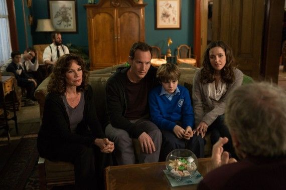 The Lambert family in Insidious 2 570x379 Insidious: Chapter 2 Cast Drops Plot Hints; New Images Show Returning Characters