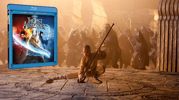 The Last Airbender DVD and Blu ray The Last Airbender DVD/Blu ray Details