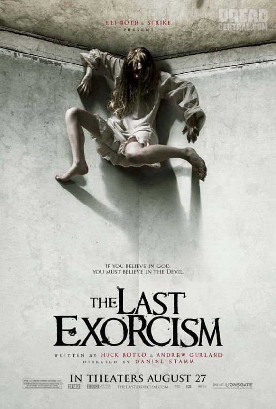 The Last Exorcism new poster Poster Friday: Resident Evil 4, Piranha 3D, Saw 3D & More!