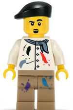 The Lego Movie Artist The Lego Movie Complete Character Guide