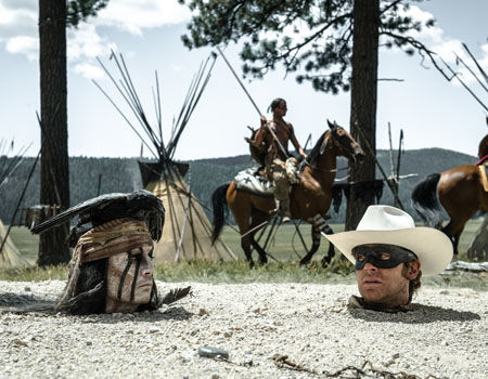 The Lone Ranger Gore Verbinski Working to Save Lone Ranger by Slashing Budget
