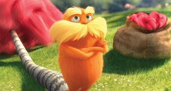 The Lorax tops the box office Illumination Entertainment Plans 3D Animated Cat in the Hat Movie