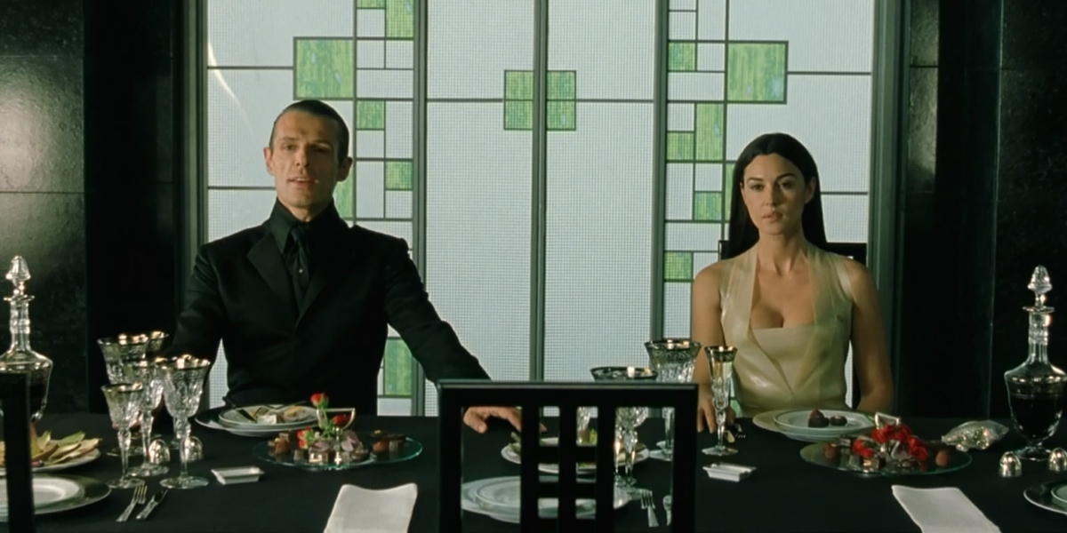 10 amazing movie clues you missed for Matrix reloaded architect