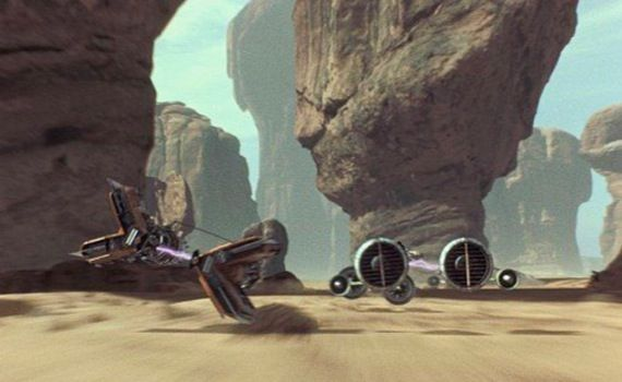 The Phantom Menace Podrace scene Star Wars: Episode I Officially Set For 3D Re Release In February 2012