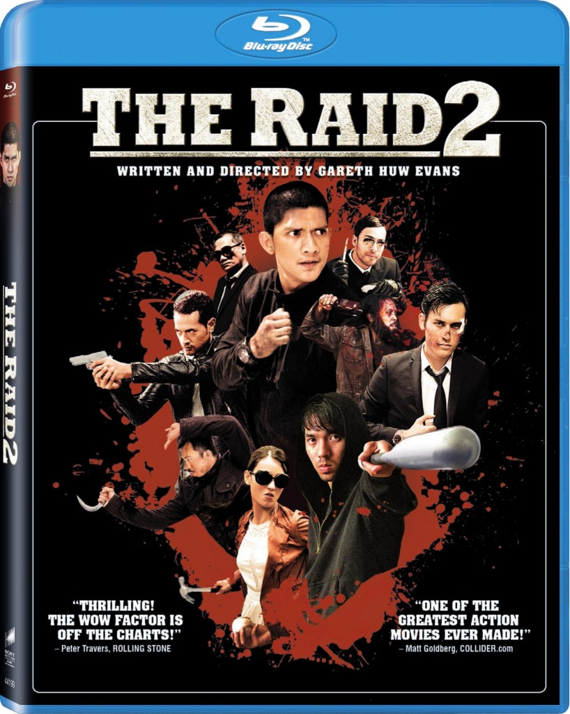 The Raid 2 Blu ray Cover 818x1024 Exclusive The Raid 2 Clip: Watch the First 9 Minutes