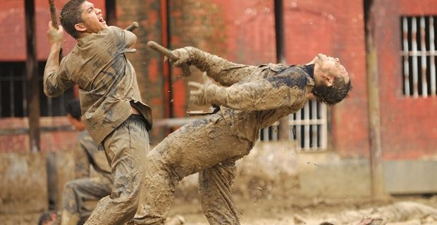 The Raid 2 Prison Fight Sequence The Raid 2 Review