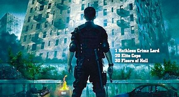The Raid Redemption starring Iko Uwais Review The Raid: Redemption Director on Action Movie Innovation & Machete Mishaps