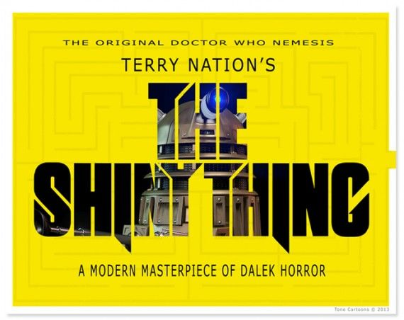The Shiny Dalek Thing 570x452 SR Geek Picks: Fresh Prince & Carlton Dance Reunion, The Truth Behind Disney Movies & More!
