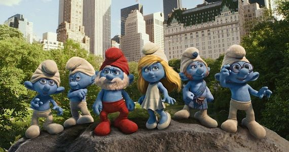 The Smurfs in 3D Review The Smurfs Review