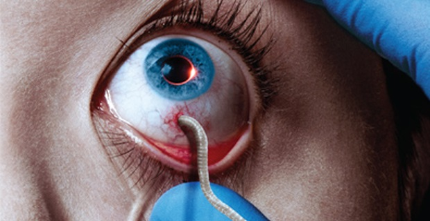 The Strain eye poster The Strain Extended Trailer: Horrible New Life Begins
