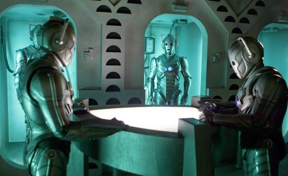 The Time of the Doctor Cybermen on ship 570x350 Doctor Who Christmas Special Trailer & Images; Matt Smith is the Thirteenth Doctor