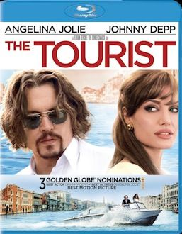 The Tourist DVD Blu ray box art DVD/Blu ray Breakdown: March 22nd, 2011