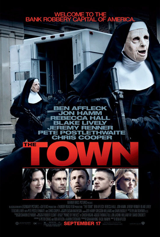 The Town poster Poster Friday: Resident Evil 4, Piranha 3D, Saw 3D & More!
