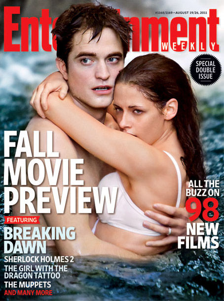 The Twilight Saga Breaking Dawn Part 1 EW Cover The Twilight Saga Breaking Dawn Part 1 EW Cover