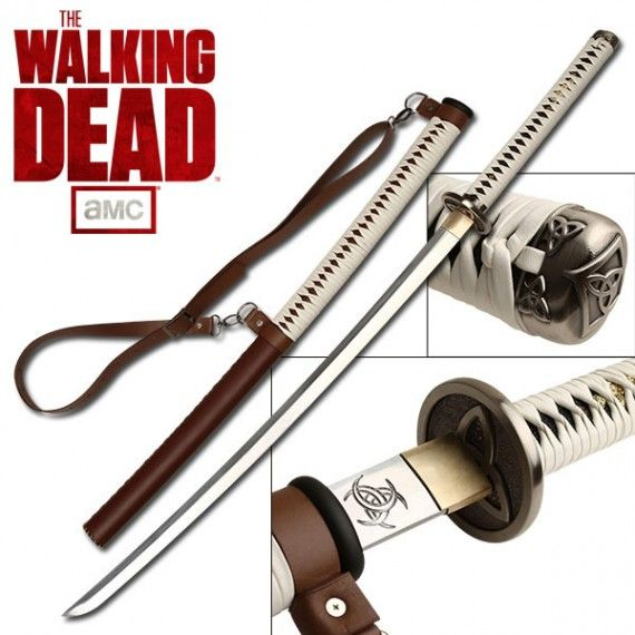 The Walking Dead Handmade Michonne Sword 570x570 SR Geek Picks: How Oblivion Shouldve Ended, Superhero Life Expectancies & More