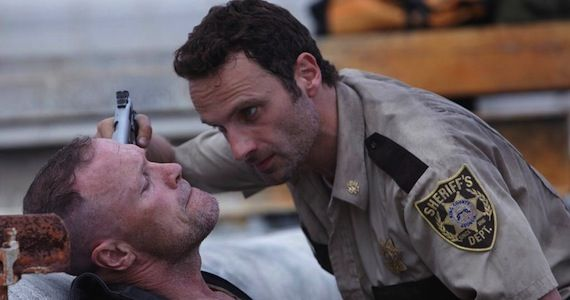 The Walking Dead Merle Handcuffed to Pipe The Walking Dead Season 3 Actors Talk Merle & Daryls Reunion