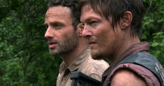 The Walking Dead Rick and Daryl The Walking Dead Midseason Finale Hints from Scott M. Gimple