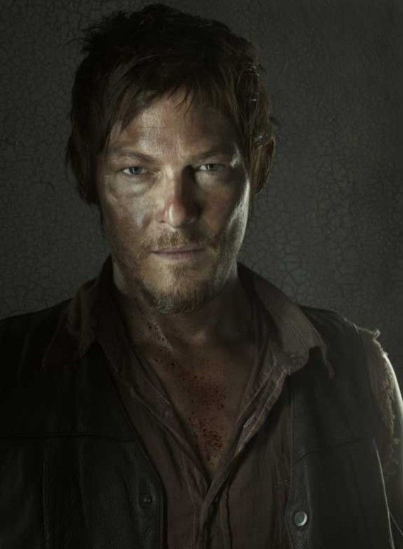 The Walking Dead Season 3 Portraits Darryl 570x776 The Walking Dead Season 3 Portraits   Darryl